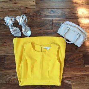 Beautiful yellow Diane von Furstenberg dress